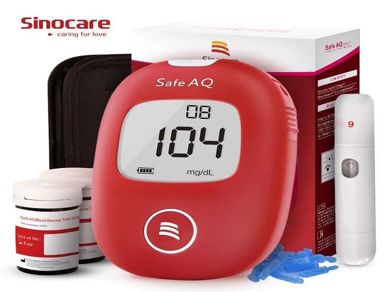Comprar medidor de glucosa sinocare